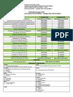 Calendario 2018 - Campus Sao Joao de Meriti