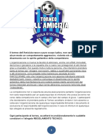Regolamento Ufficiale del 7° Torneo Dell Amicizia Isola d'Ischia - Edizione Invernale 2018 - 2019
