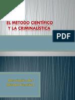 Metodo Cientifico y La Criminalistica
