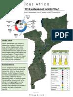 2016 Mozambique Incident Map