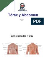 Clase 5 Torax y Abdomen