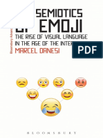 [Bloomsbury Advances in Semiotics] Marcel Danesi - The Semiotics of Emoji_ The Rise of Visual Language in the Age of the Internet (2016, Bloomsbury Academic).pdf