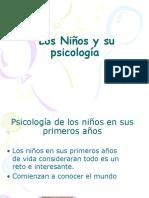 Los Niños y Su Psicologa