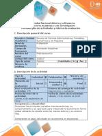 Guía de Actividades y Rúbrica de Evaluación - Fase 2 Leer y Analizar El Escenario Del Problema e Identificar Lo Que Se Conoce y No Se Conoce. (1)