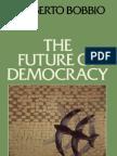 Bobbio the Future of Democracy