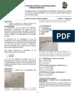 Factores Que Afectan Cromatografia