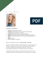 Biografía Shakira