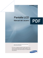 Manual de Usuario en Espanol SAMSUNG 650TS-2