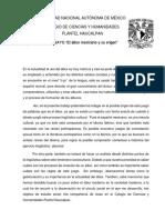Ensayo-El Albur Mexicano y Su Origen.