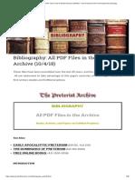 Bibliography_ All PDF Files in the Preterist Archive (10!4!18) – the Preterist Archive of Realized Eschatology