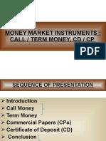 Call Money Presentation