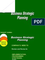 Strategic planning for Business