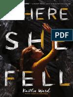 Where She Fell (Excerpt)