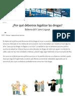 [2015] ¿Por Qué Debemos Legalizar Las Drogas (Nexos)