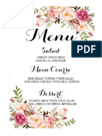 Menu Making for Wedding.docx