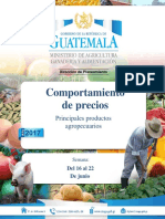 Guatemala Informe Semanal de Precios, Del 16 Al 22 de Junio de 2017