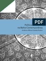 Politicas Culturais Na Bahia - Albino Rubim