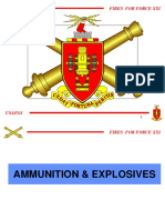 Ammunitions and Explosives