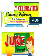 Monthly Celebration