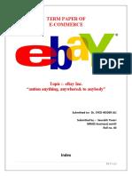 Ebay Project