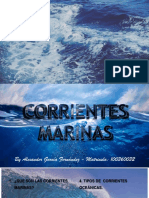 Las Corrientes Marinas