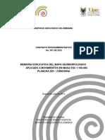 Memoria geomorfología 205