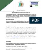 Bases Concurso Afiche Ppj 2015
