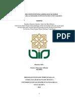 Analisis Sistem Pengklasifikasian Koleksi Di Perpustakaan Kolese Santo Ignatius Yogyakarta