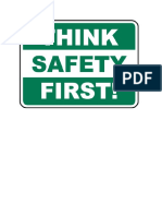 Safety First 5