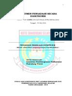14. SDP Lanjutan Pembangunan Puskesmas Pamulang Timur (1)