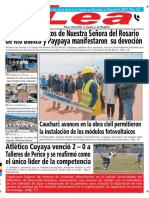 Periódico Lea Lunes 08 de Octubre Del 2018