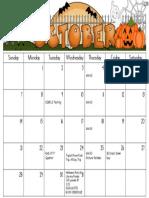 k october calendar   dragged