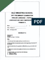 P6 English SA2 2017 Red Swastika Exam Papers