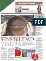 Carlín, Ernesto. (28 de septiembre de 2018). Sensibilidad viajera. El Peruano, p. 16.