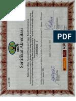 Sertifikat Akreditasi D3 Keperawatan 2011-2016