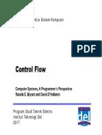 Arsitektur Sistem Komputer - Week 7 - Control Flow