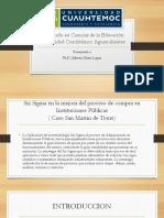 Presentacion SixSigma-Doctorado