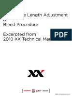 Xloc Hose Adj and Bleed Procedure