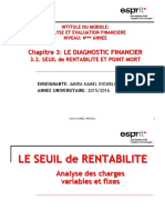 Aef Chapitre 3.2_seuil de Rentabilite Et Point Mort