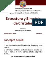 Estructura y Simetría de Cristales