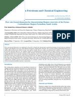 Flow rate fractal dimension for characterizing Shajara reservoirs of the Permo-Carboniferous Shajara Formation, Saudi Arabia