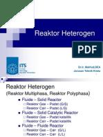 Reaktor Heterogen MFD