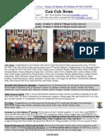 Cox News Volume 8 Issue 7