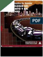 libro completo tecnología del concreto y del mortero diego sanchez guzman