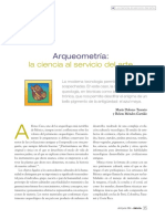 Arqueometria y Pigmentos