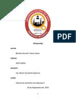 Práctica 1 Ultrasonido, CÁLCULO II