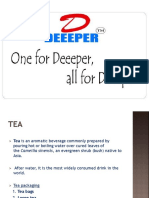 Deeeper Tea Market Analysis