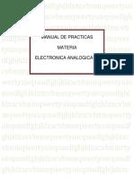 Manual de practicas- Amplificadores operacionales