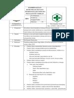 7.2.2 Ep 3 Daftar Tilik Koordinasi Dan Komunikasi Antara Pendaftaran Dengan Unit-unit Penunjang Terkait Revisi