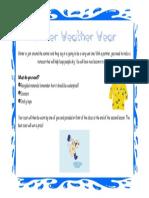 raincoat design brief